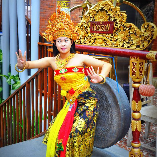 Free Photo with Balinese Costume