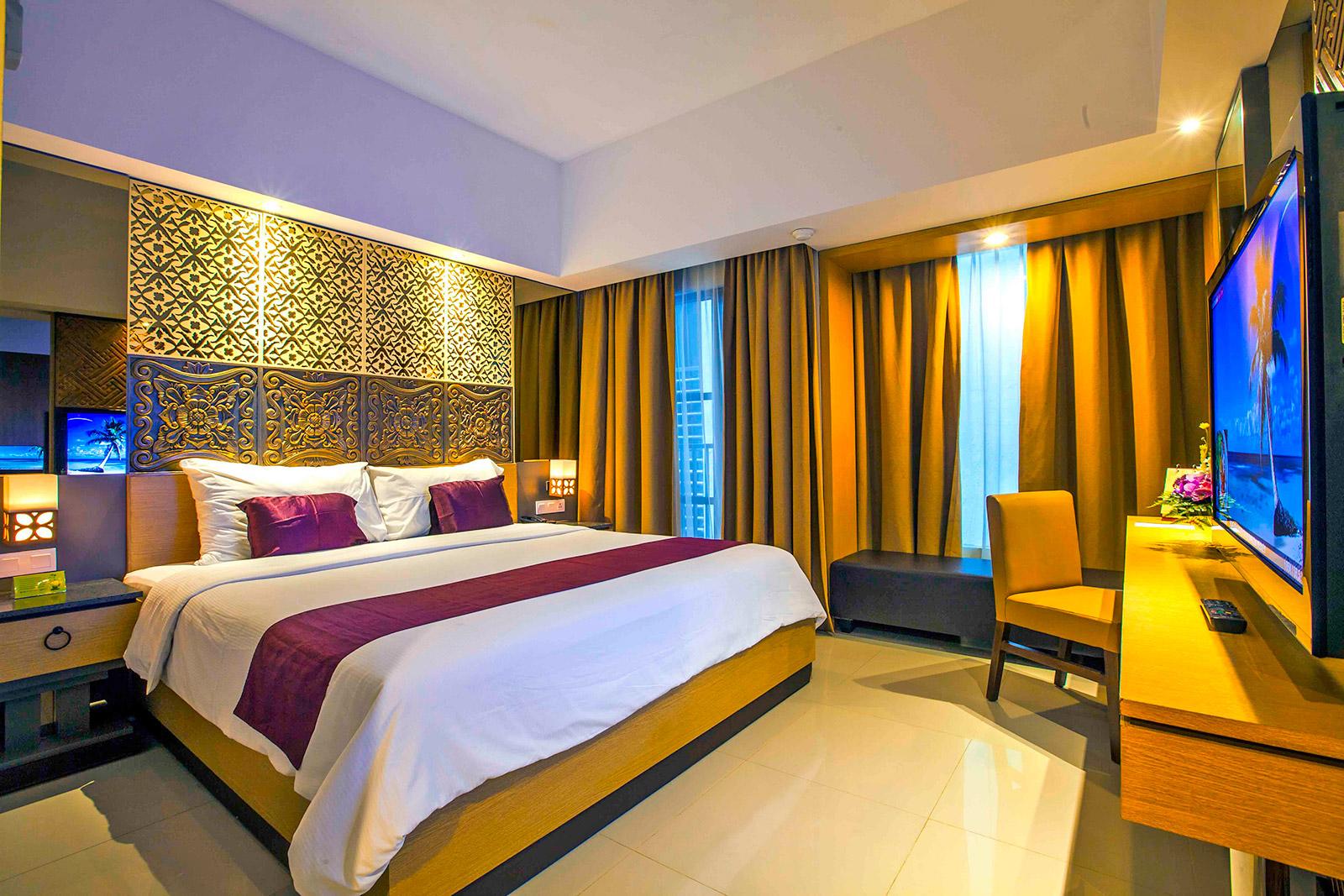 Deluxe Room Horison Seminyak Hotel Bali